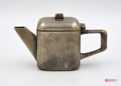 Art Deco stílusú, ezüstözött alpakka tejkiöntô (1918-1940)