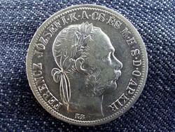 Osztrák-Magyar Forint .900 ezüst 1 Forint 1891 BU/id 10373/