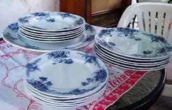 6db antik Royal Couldon Cosmpolite lapos tányér és 4 db mély tányér egyben olcsón!