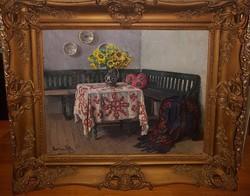 Boemm Ritta (1868-1948) : Szobabelső
