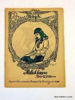 1917 szeptember 17  /  Milliók Könyve  /  RÉGI EREDETI ÚJSÁG Szs.:  6764