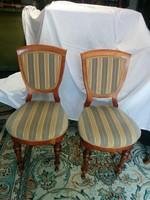 2 db biedermeier szék