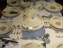 12 személyes, 1936-os csodaszép Rosenthal étkészlet