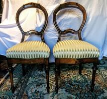 Biedermeier 2 db szék
