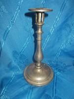 Antik ritka vas patent szabadalmazott gyertyatartó