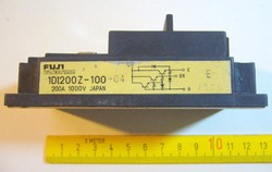 200A 1000V FUJI JAPAN DARLINGTON TELJESÍTMÉNY TRANZISZTOR MODUL 1DI200Z-100 -MPL csomagautomata is