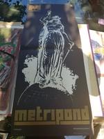 Nagy metripond plakát, félbehajtva