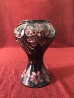 Hódmezővásárhelyi népi szecessziós kerámia váza, HMV Kis Sándor