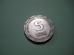 Izraeli  sékel  24 mm