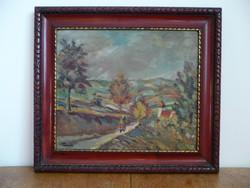 Tornyai szignóval ellátott gyönyörű festmény