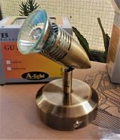 BALI egyes halogén fali spot A-light, antik réz /B