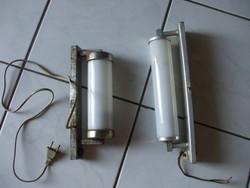 2 db retro fali lámpa