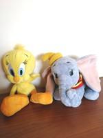 Csőrike és Dumbó plüssállat - játék