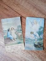Gyönyörű ritka antik szentképek,képeslapok - vintage