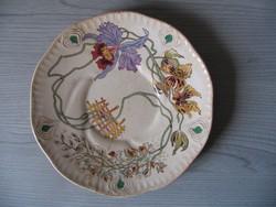 Antik tányér (Sarreguemines)- 19. század vége