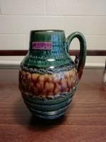 Retro Scheurich West Germany kerámia váza, 414 - 16