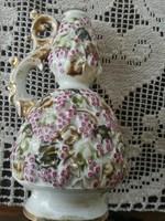 Zsolnay szőlőmintás váza
