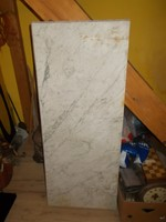 Régi tálalószekrény nagyméretű márvány lap