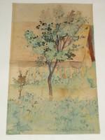 K. Madarász Adeline: Udvarrészlet, 1905