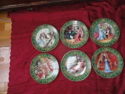 LIMOGE DARCEAU - LIMOGES francia porcelán, Napóleon életeseményei képekben.
