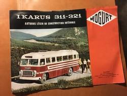 Ikarus 311-321 MOGÜRT prospektus