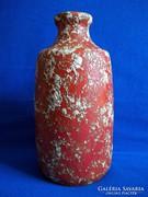 Tófej retro kerámia váza II.