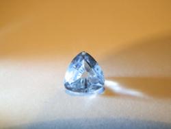 Akvamarin - 3,7 ct, természetes