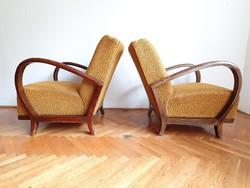 Ritkább fazonu Art deco fotel párban