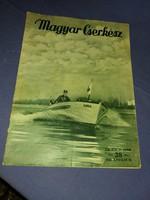 Magyar cserkész 1939 április ifjúsági újság magazin