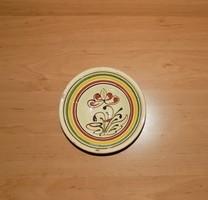 Mázas kerámia falitányér 15 cm (n)