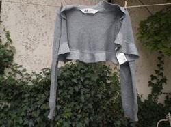 Ruha - kislány kardigán H&M - ezüst színű - 98 x 104 méret - pamut - nem bolyhos - szép állapot