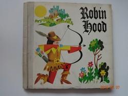 Robin Hood - régi, térbeli mesekönyv, Artia kiadás, 1976
