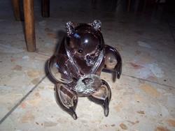 Misa olimpiai üveg medve Ritka darab!...