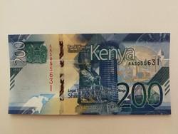 Kenya 200 Shilingi UNC 2019