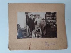 """Régi fotó """" Bebők István Mérlegkészítő Budapest 1936 """" vintage fénykép"""
