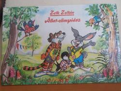 Zelk Zoltán Állat-olimpiász Rajzolta: Radvány Zsuzsa, 1989