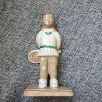 Izsépy kerámia / teniszező kislány