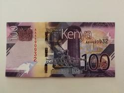Kenya 100 Shilingi UNC 2019