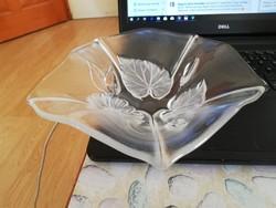 Üveg asztalközép