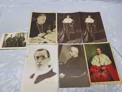 Mindszenthy József,Pius pp XII. pápa képeslapok
