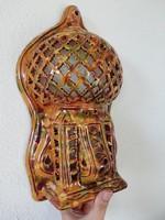 Meseszép törökös falidísz- gyertyatartó