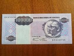 Angola 100000 Kwanzas UNC 1995