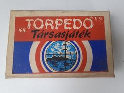 Retro játék Torpedo társasjáték
