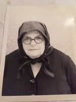 Idős paraszt asszony művészi fotográfia , arckép,  portré- fotó,fénykép
