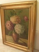 E 10  Vígh jelzéses  olaj festmény Rimaszombat 1890-1946  M:49X39 cm