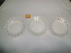 Régi gránit lapos tányér - három darab