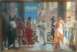 Ecce Homo Antonio Ciseri festményének magyar másolata