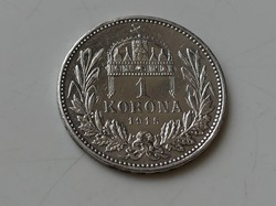 1 Korona 1915 KB ezüst aUNC 3