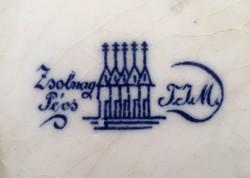 Antik Zsolnay készlet 1878