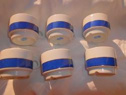 6 db Alföldi  retro vastag porcelán kávés csésze -szép állapotú 400 Ft/ db